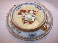Pasta Leek Soup